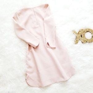 NWOT Curved Hem Shift Dress | S